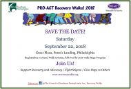 Recovery Walks 2018