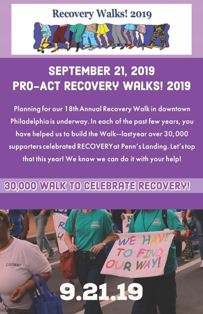 Recovery Walks! Walk for Recovery